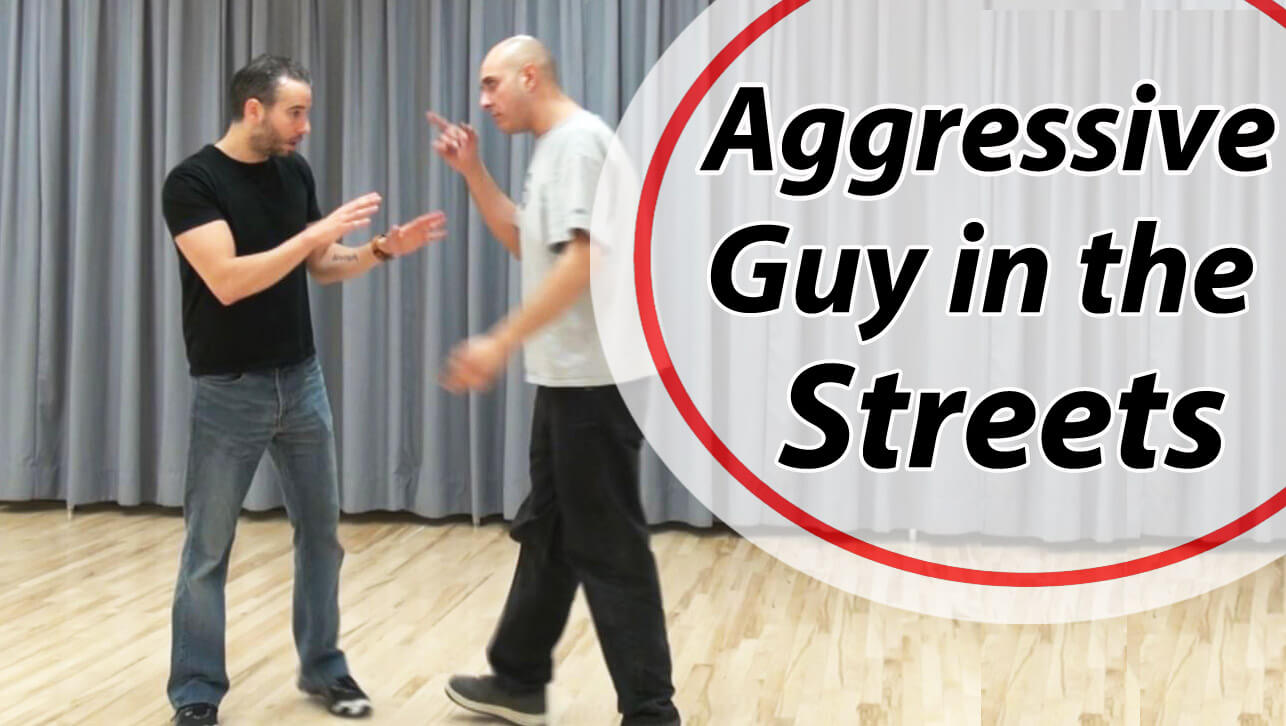How to defend yourself from an aggressive person