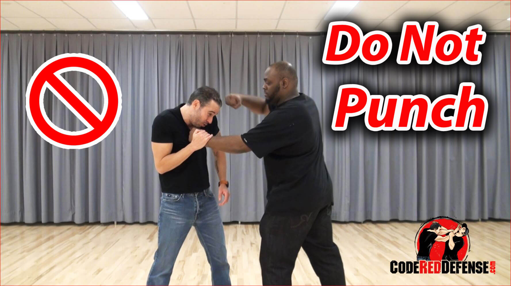 Do not punch in a street fight