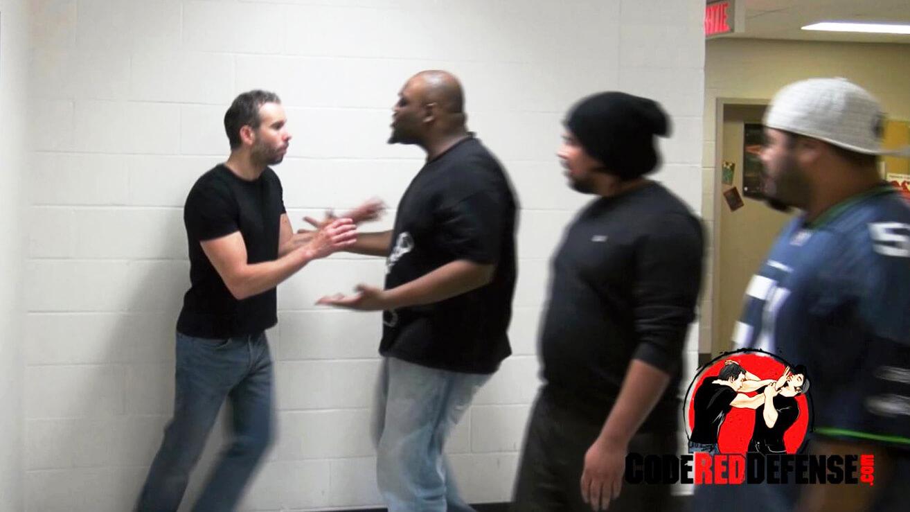 Multiple Attackers Self-Defense