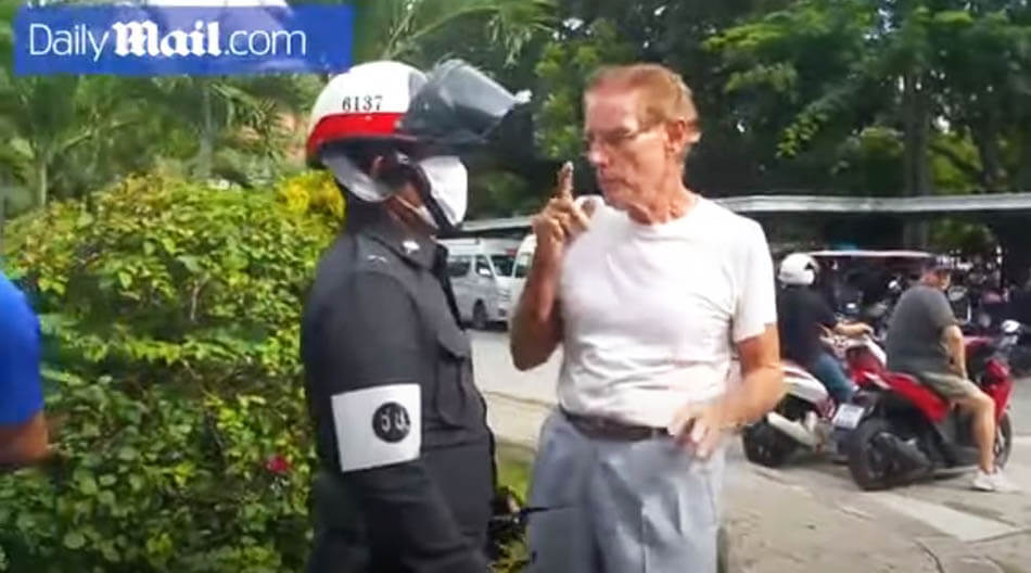 man sucker punched