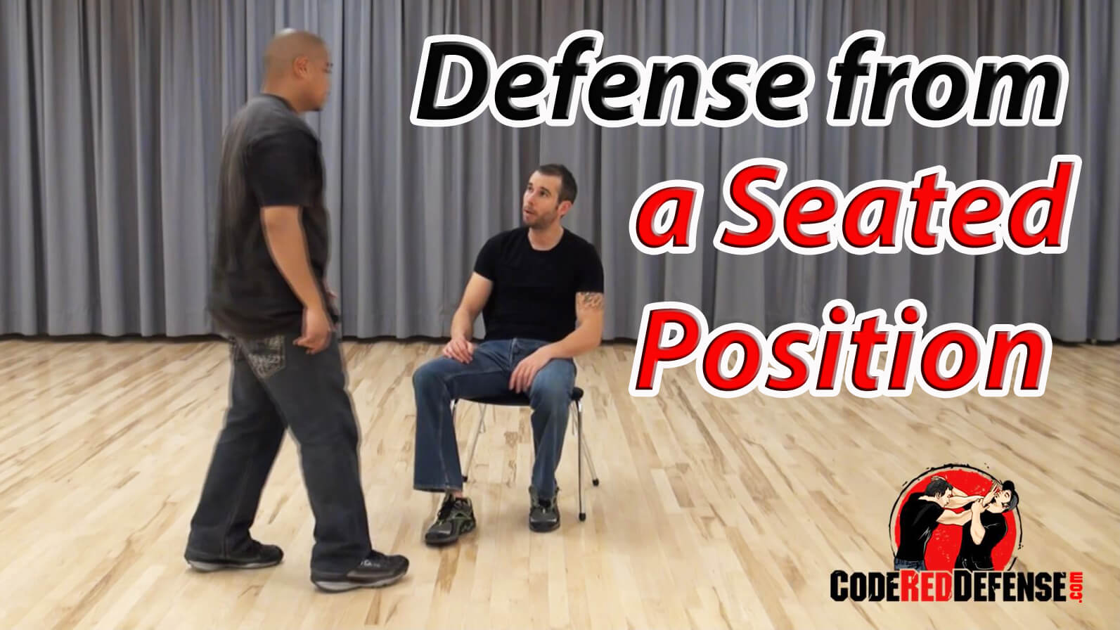learn how to defend yourself form a chair