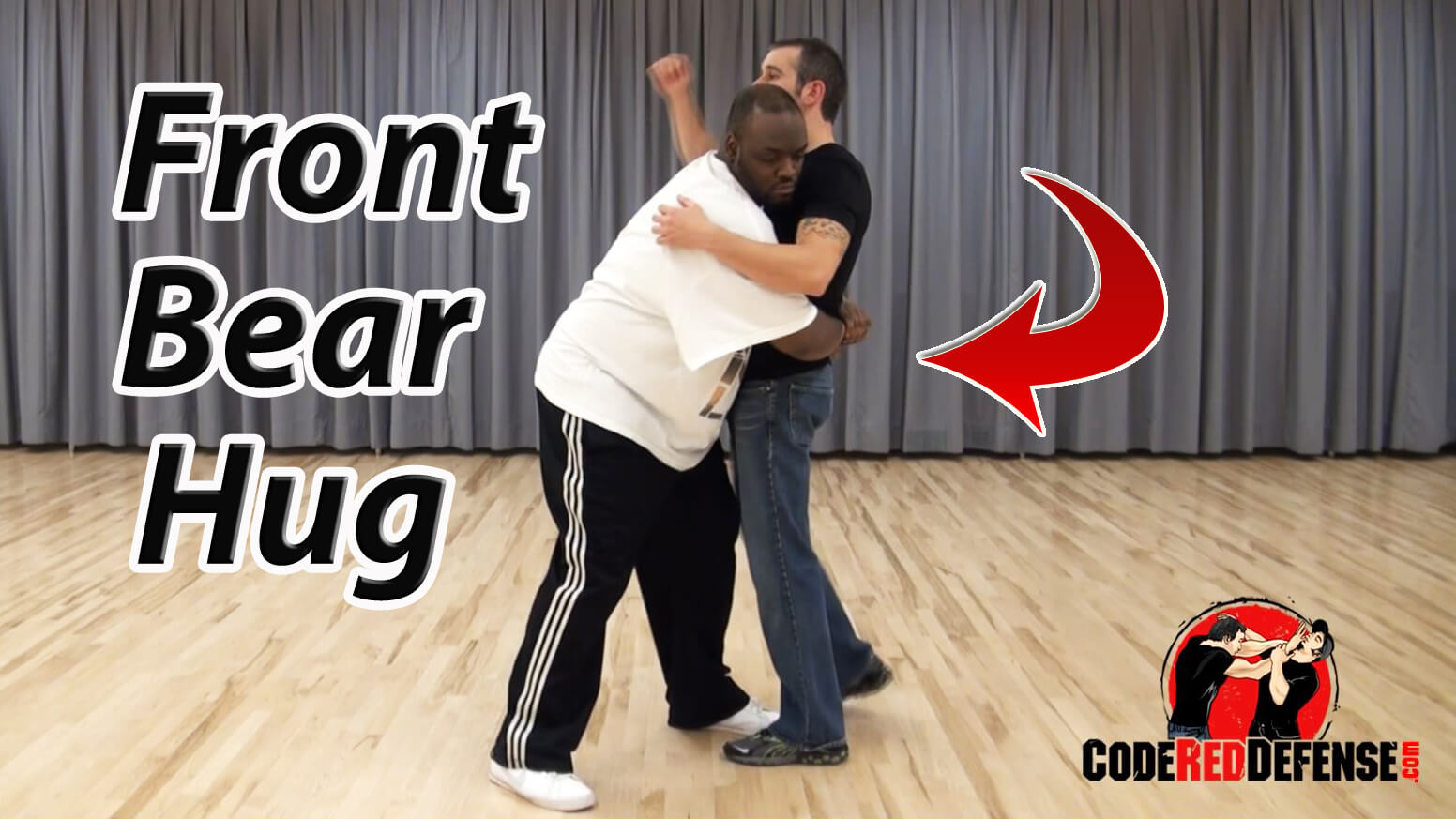 How to Defend Yourself Against a Front Bear Hug
