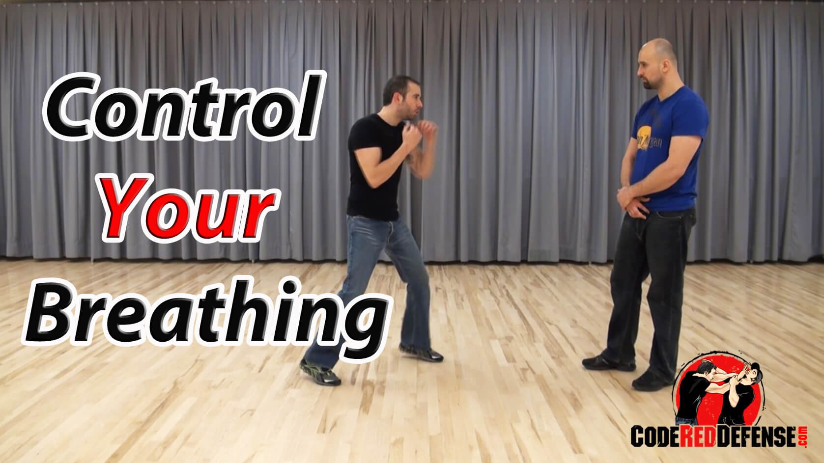 Learn how to control your breathing during a fight