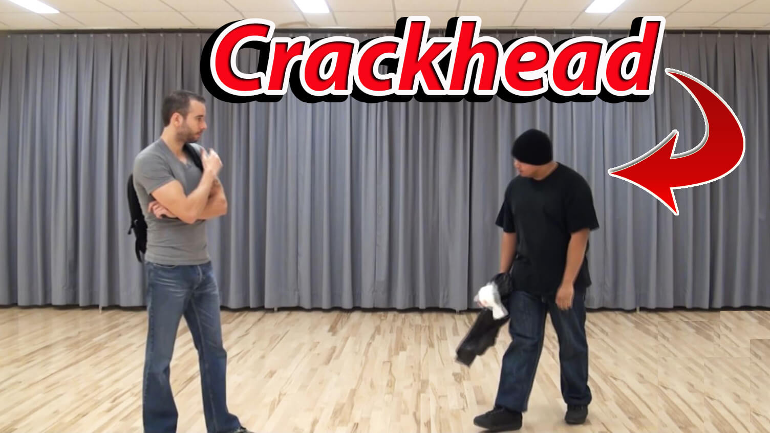 Learn self defense tips on how to deal with a crackhead
