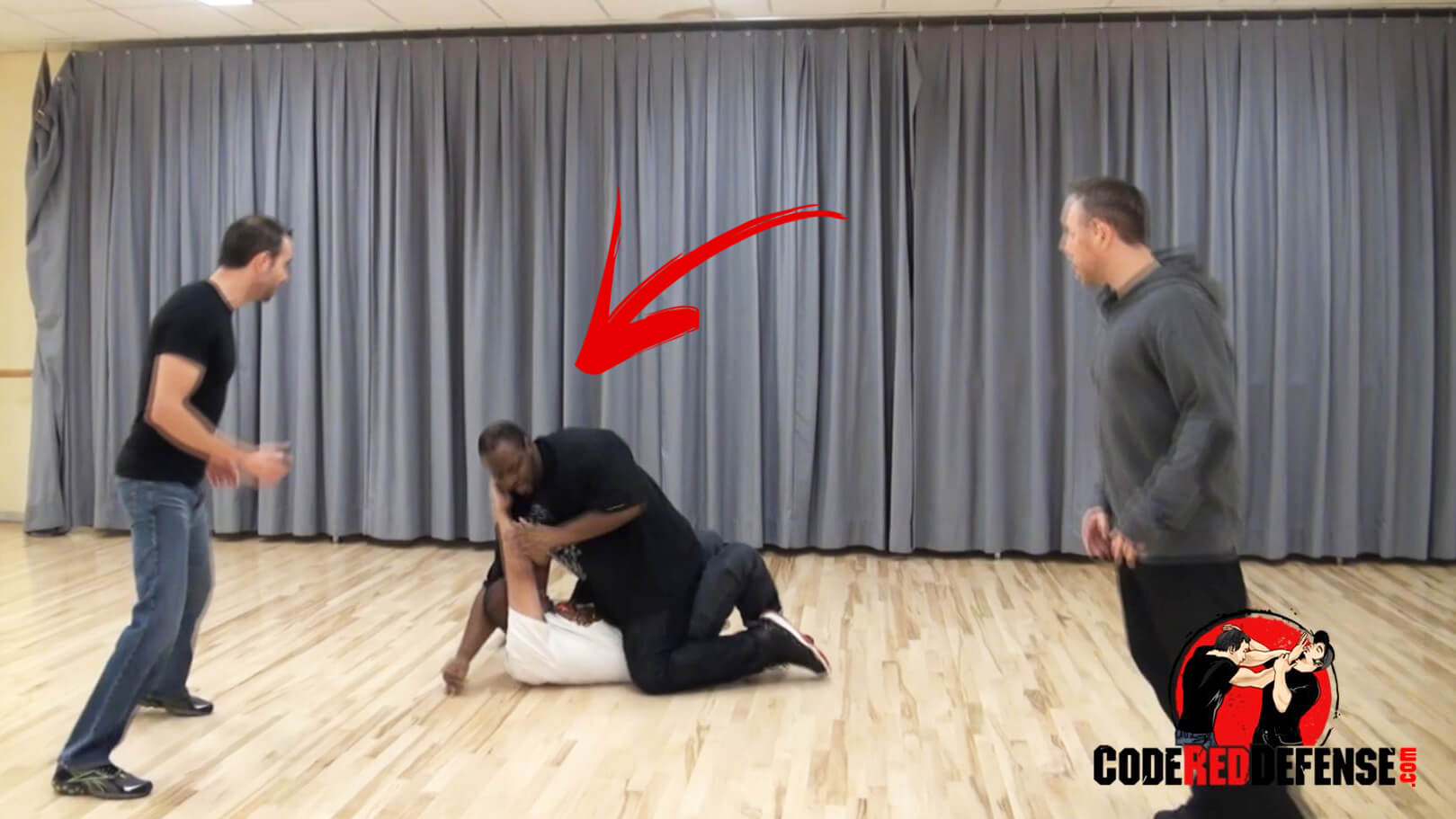 self defense drill on how to protect yourself from multiple attackers
