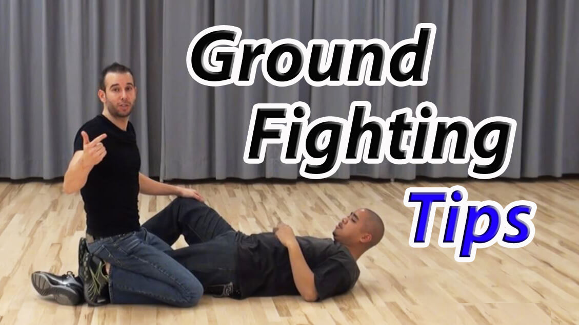 learn self-defense tips for ground fighting