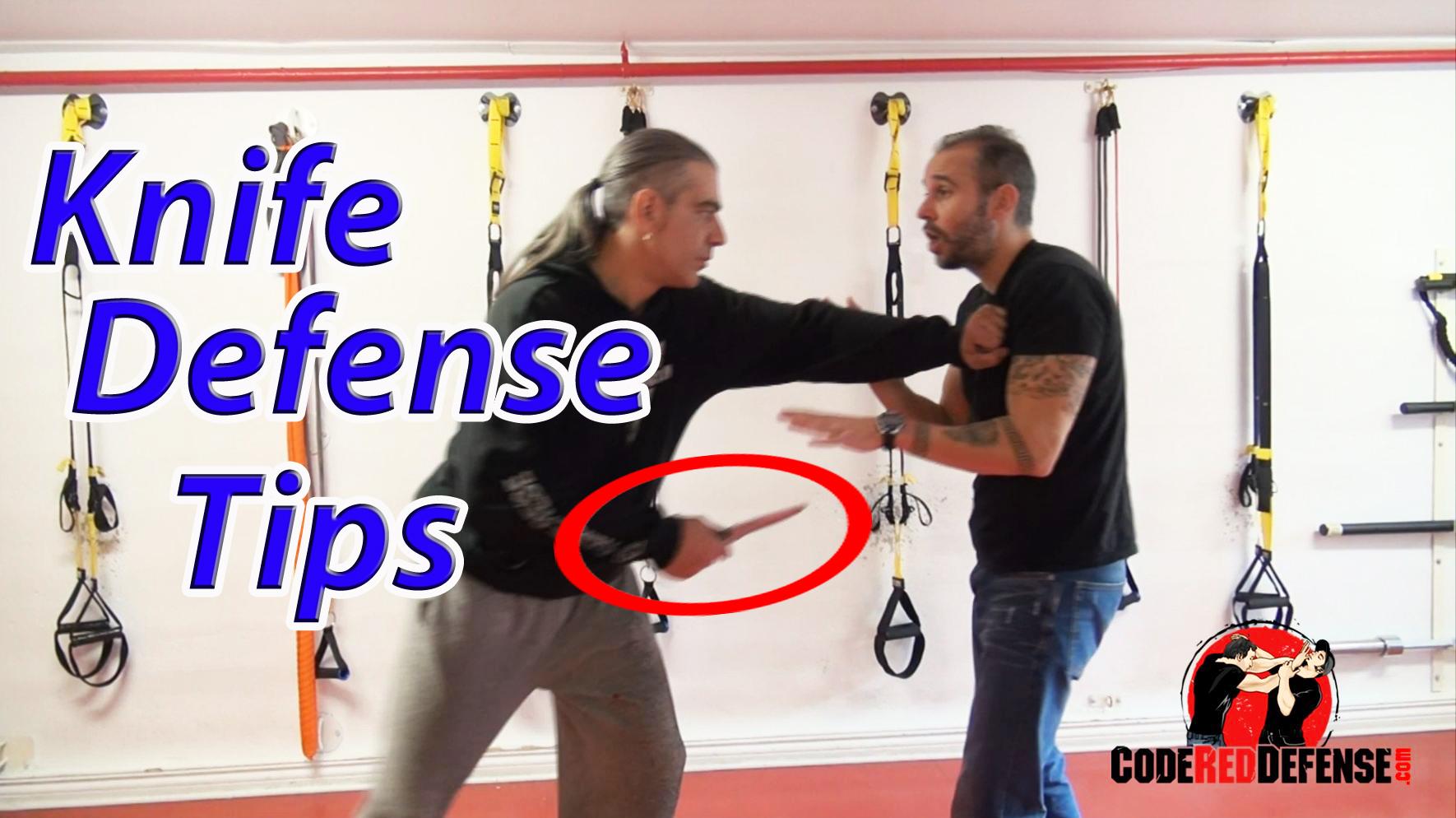 knife defense tips