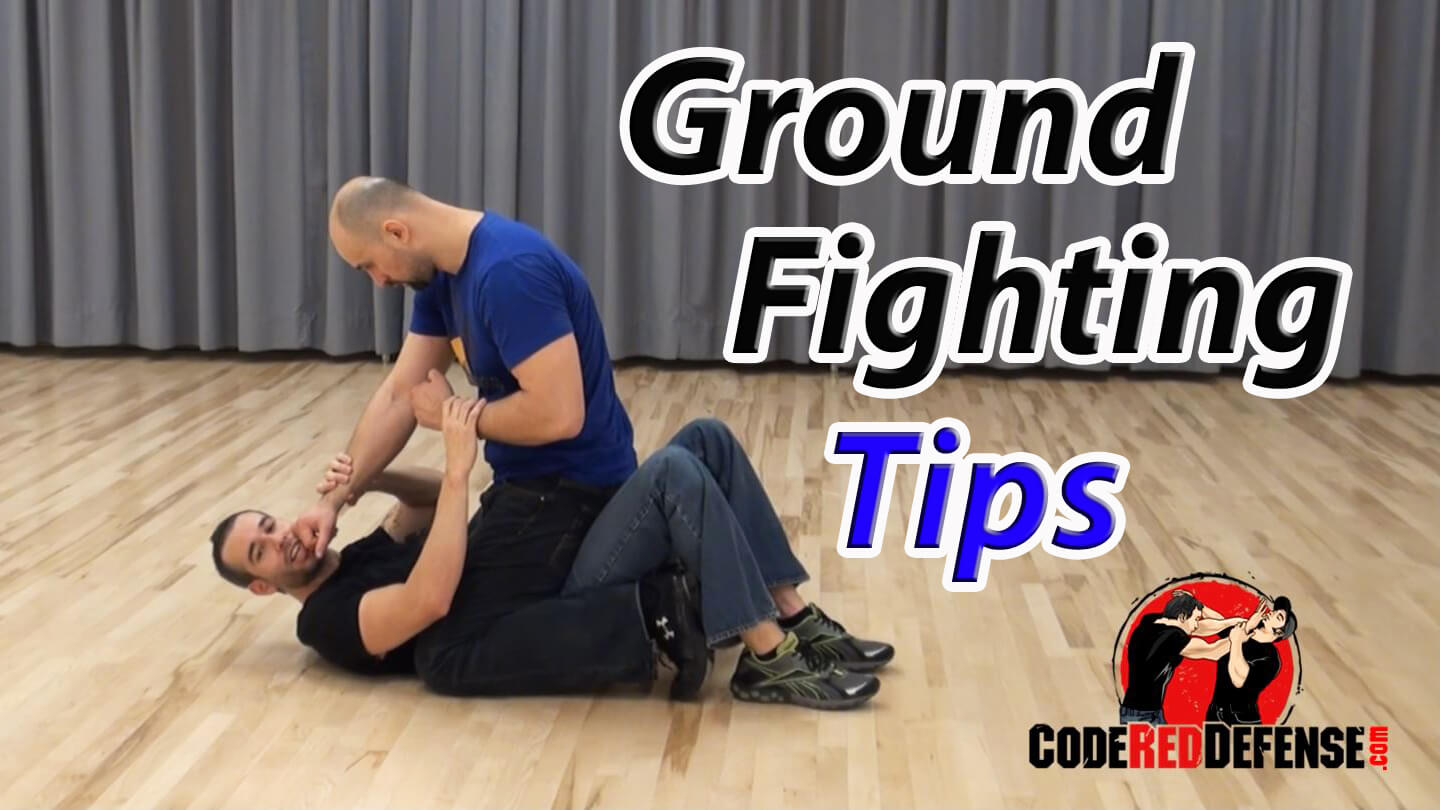 Learn ground fighting self-defense tips