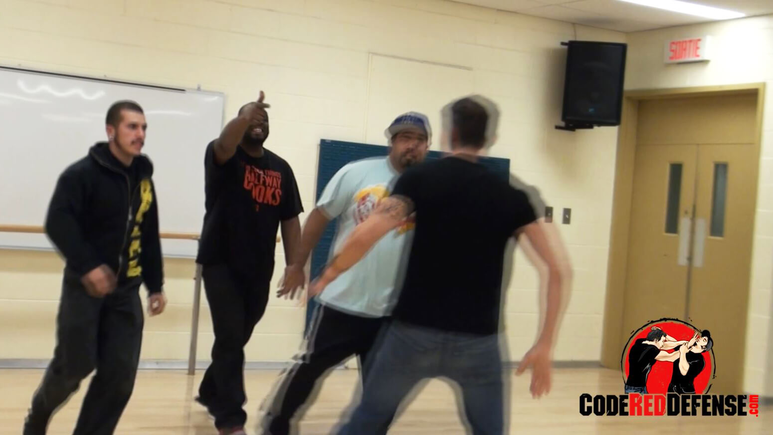 learn self defense tips against multiple attackers
