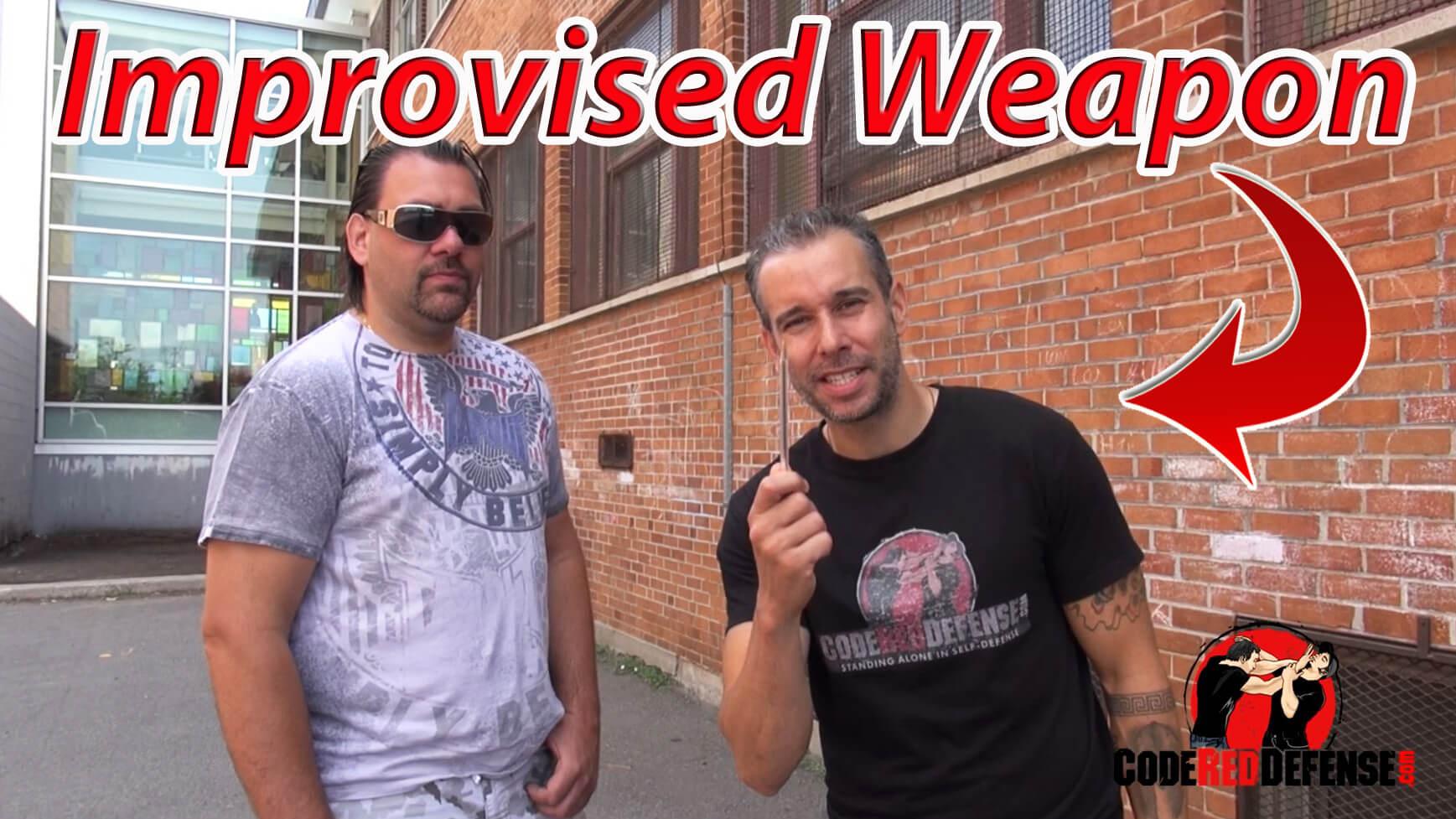 self defense improvised weapon tips