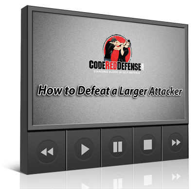 How to defeat a larger attacker