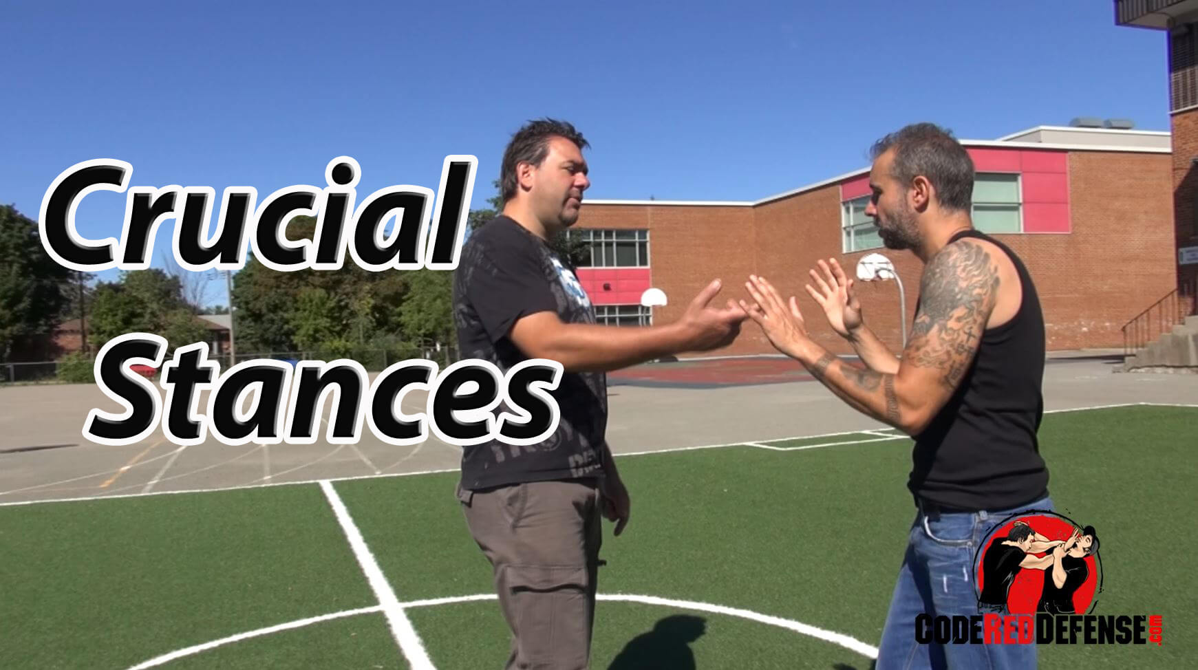 Learn the best stances for self defense
