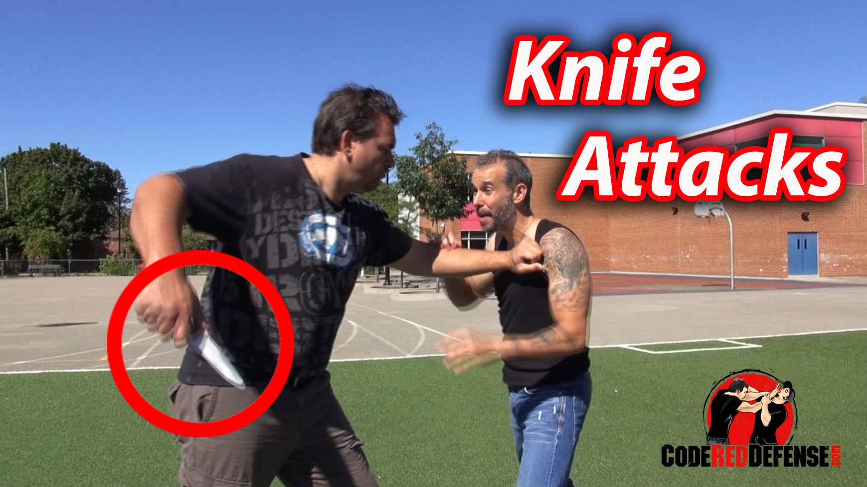 scenarios of a knife attack
