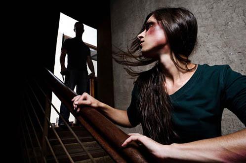 woman self-defense
