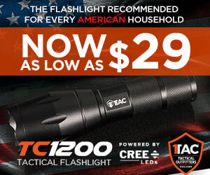 Tactical self-defense flashlight