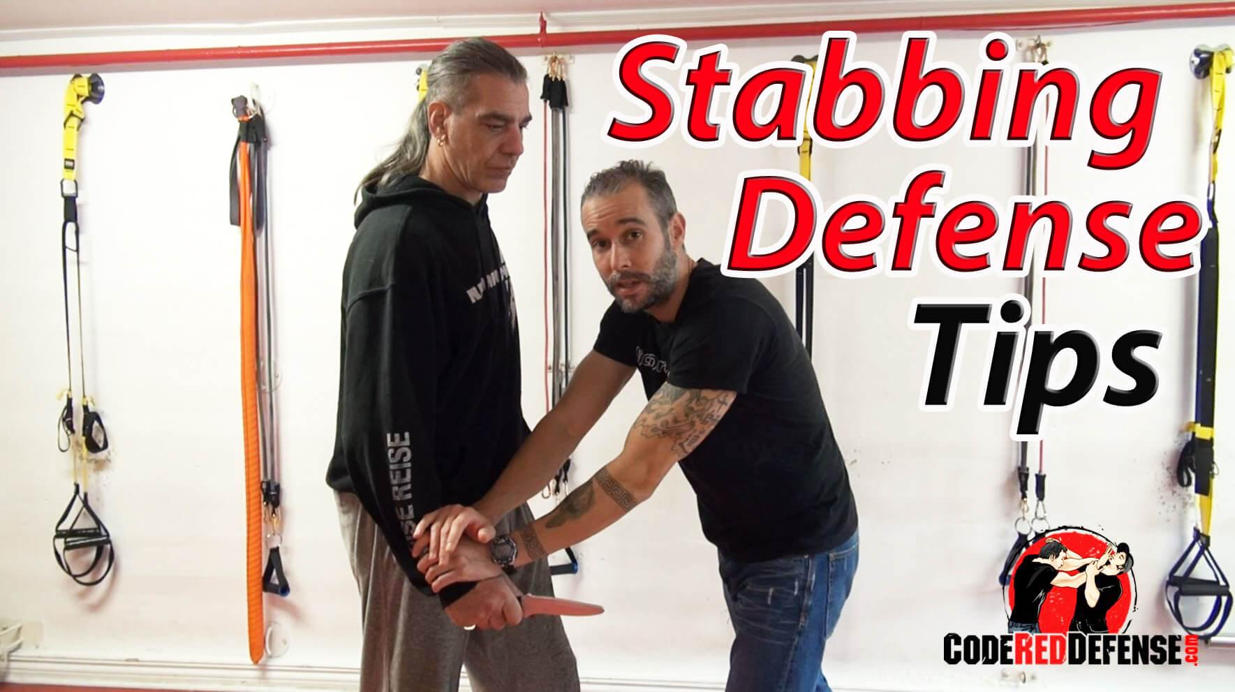 stabbing defense tips