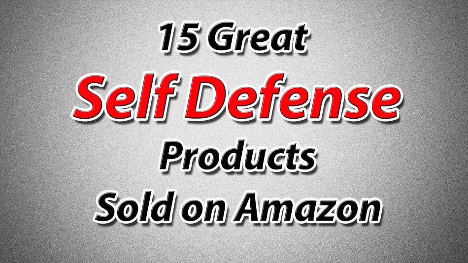 self defense products on amazon